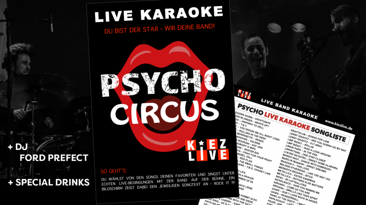 Psycho Live Karaoke - DJ Ford Prefect