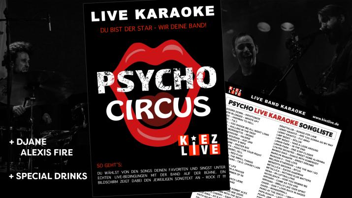 Psycho Live Karaoke - DJane AlexisFire