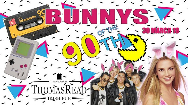 Flyer Bunnys of the 90's