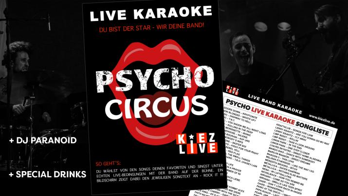 Psycho Live Karaoke - DJ Paranoid