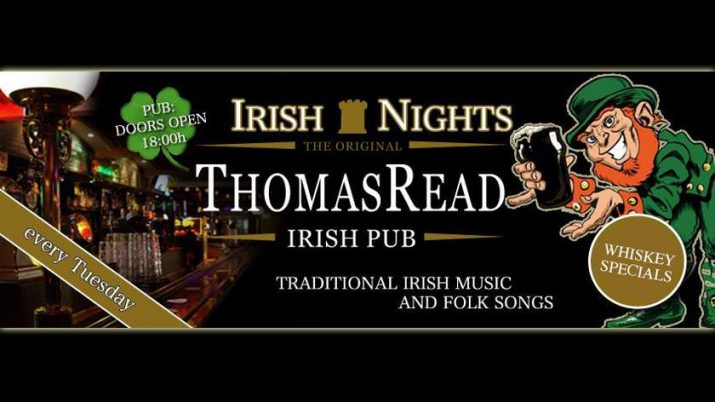 irish nights flyer