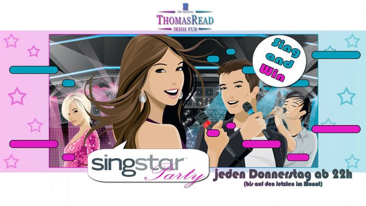 Singstar Party Flyer