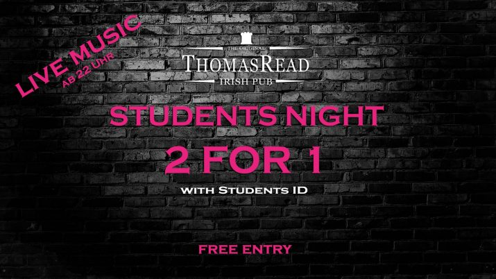 Students Night Flyer