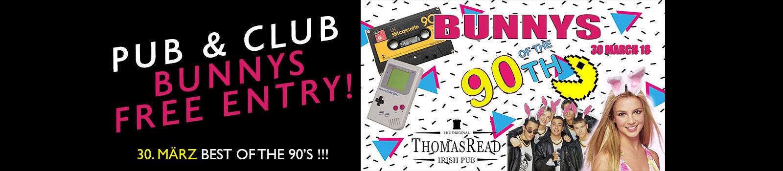 Website Slider Bunnys of the 90s